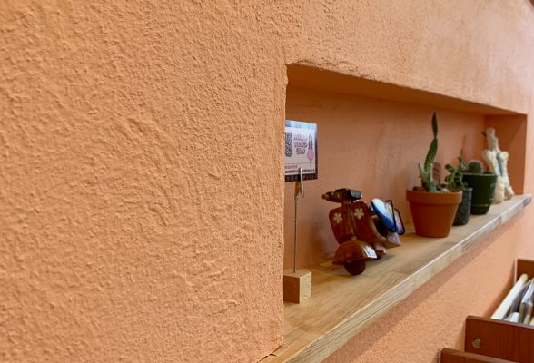 マハロの室内壁はすべて漆喰‼